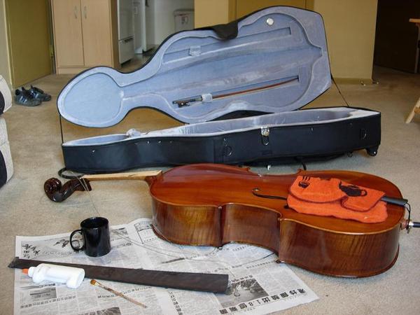 修大提琴中場休息1