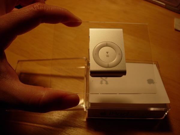 iPod shuffle好小喔~正面照
