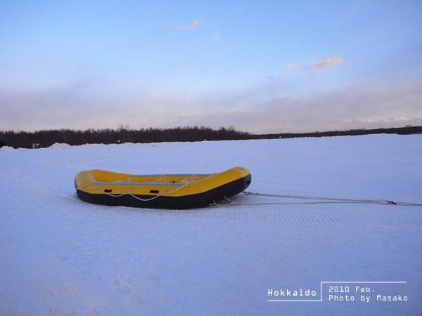 這好像是雪上香蕉船吧