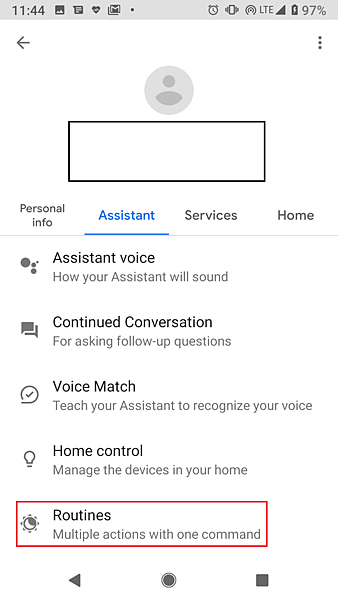 001-2 Find Routines under Assistant.png
