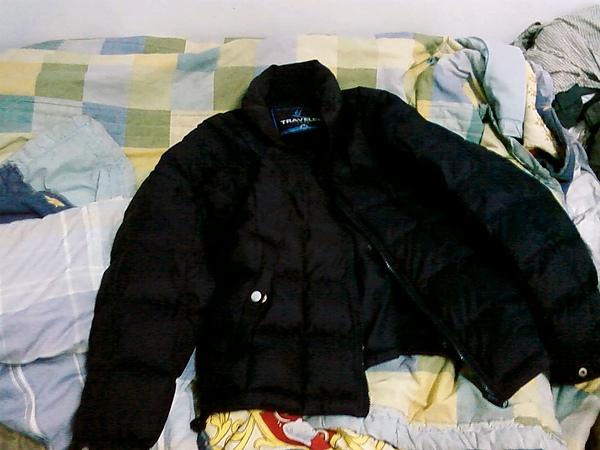 我的羽絨外套