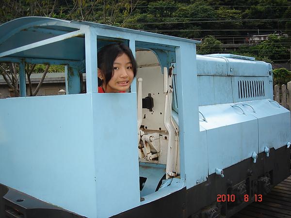 猴硐煤礦博物館的火車頭