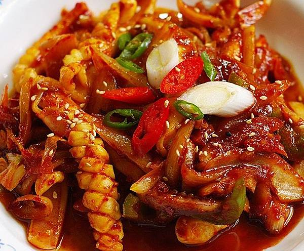 사천-파스타-사천식-오징어-볶음-양념-만두_0