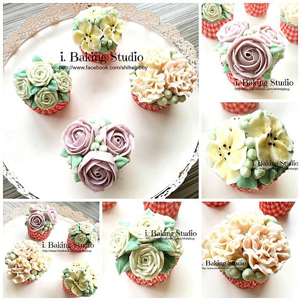 PicMonkey Collage flower cupcake