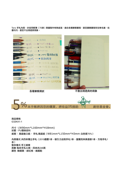 Tero 菊32開2010年實現夢想專用手帳黝銅黑p4.jpg