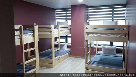 6人宿舍海景房