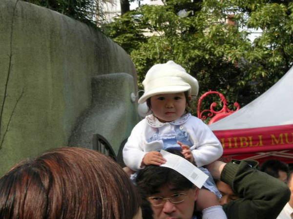 來日本有一個體悟...就是小孩都超有型..每個都是型男型女