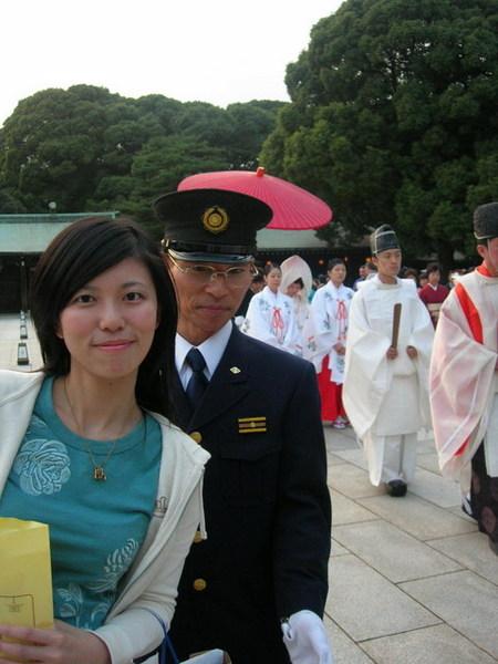 超幸運...遇到傳統婚禮