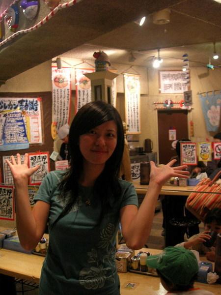 整間店有那種日本又擠又熱鬧的感覺