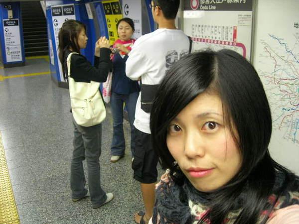 都營地下鐵的月台比較不氣派