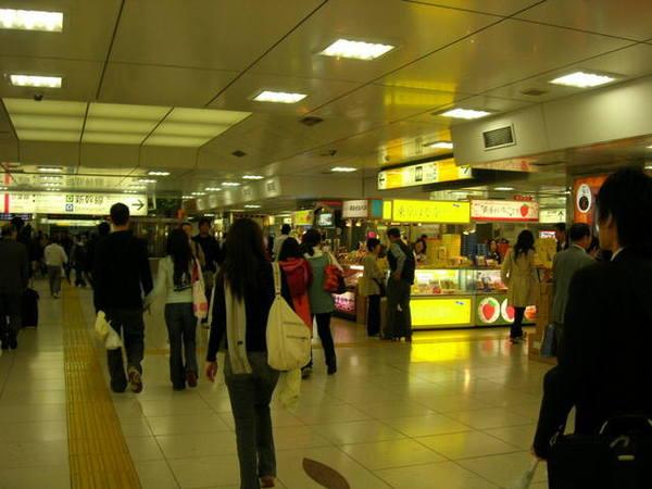 在東京站轉車