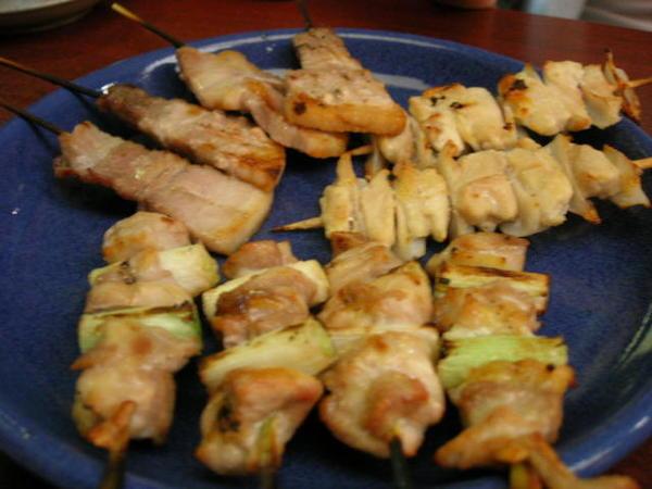 正宗道地日式烤物