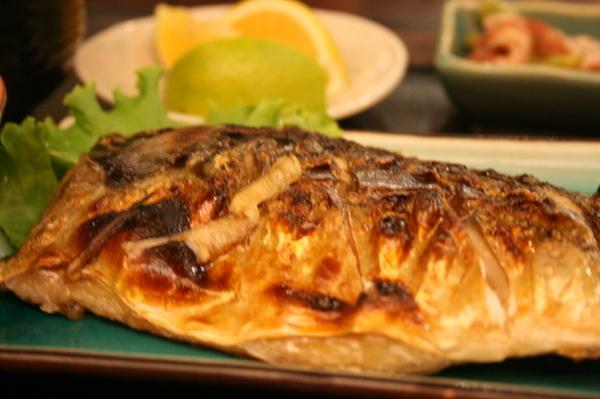 我最愛的鯖魚定食