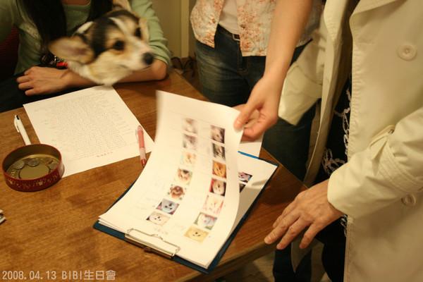 簽到簿有每個小朋友照片