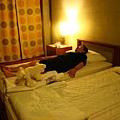 床還有枕頭就跟家裡的一樣好睡