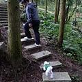 bibi今天爬了很多樓梯...補足一年份的運動量(這傢伙平常在家是爛泥)