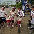 阿爸阿母乾爹乾媽作陪...陪7歲壽星單車樂活一日遊