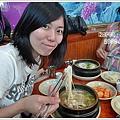 韓國的第一餐,人參雞麵線