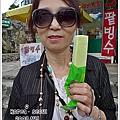 哈密瓜冰棒綿密,也是韓國紅牌,但是太甜