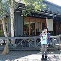 有名的蕎麥麵專門店川上庵,有很帥的混血服務生