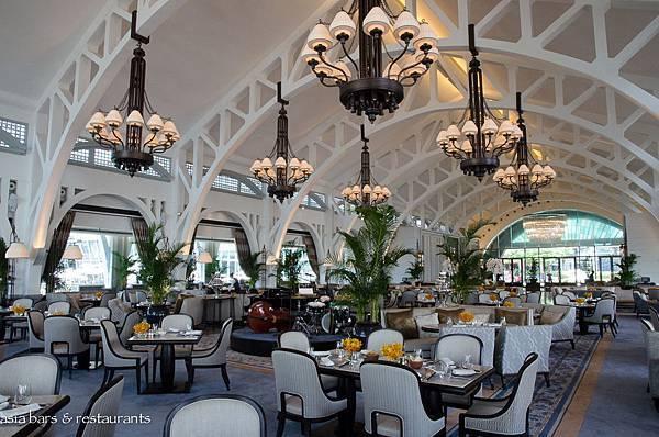 新加坡 富麗敦海灣酒店  海濱餐廳.jpg