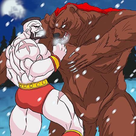 Zangief vs Bear