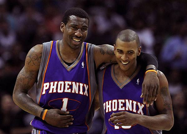 Amare Stoudemire, Raja Bell.jpg