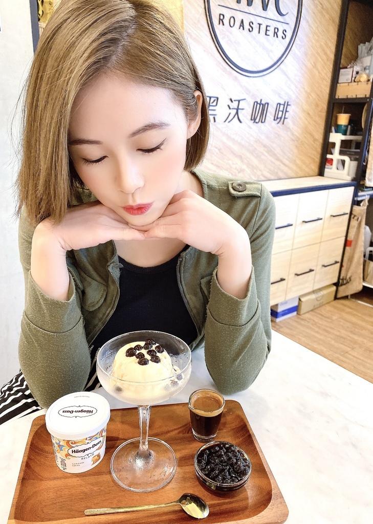 黑沃咖啡哈根達斯甜點