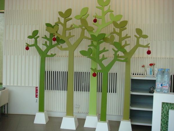 室內的擺飾樹