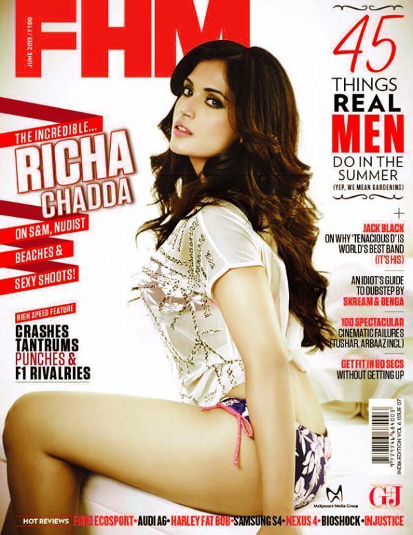 richa-chadda-fhm-magazine-cover-page