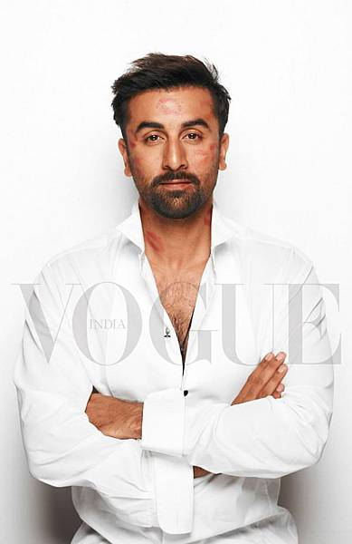 Ranbir on Vogue
