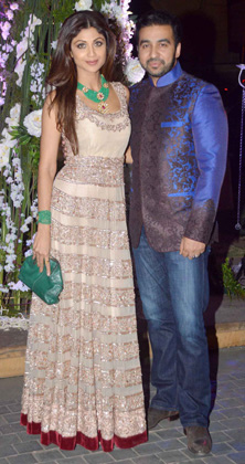 Shilpa Shetty與老公Raj Kundra