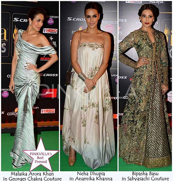Best Dressed IIFA rocks