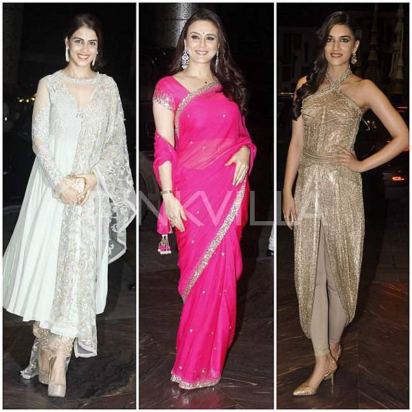 Genelia Preity Zinta Kriti Sanon Shahid Mira reception_0.preview