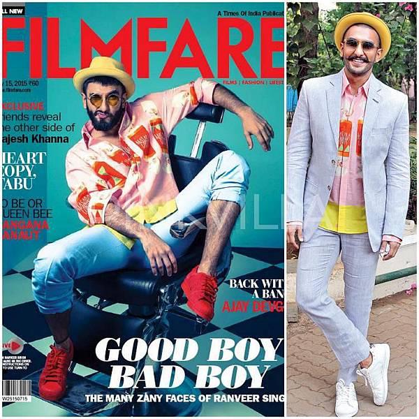 Ranveer Singh Masaba Gupta Filmare Cover