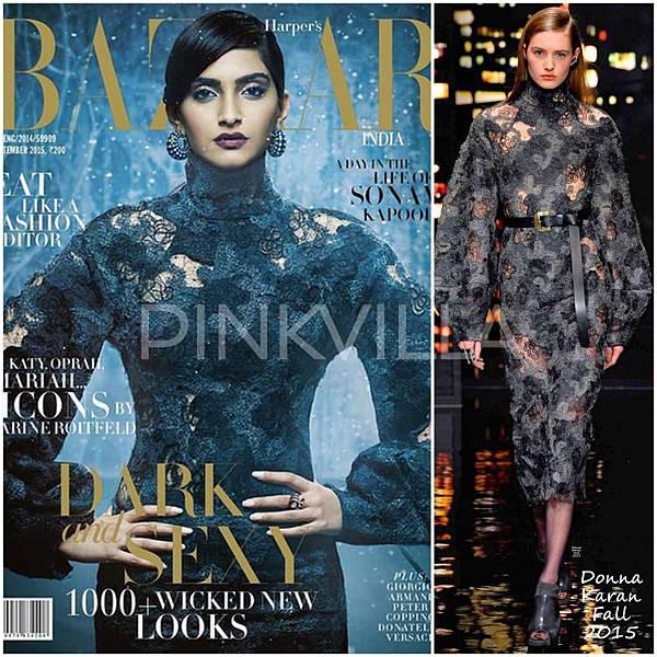 Sonam Kapoor Donna Karan Harper Bazaar India