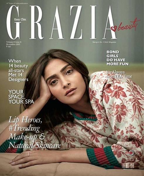 Sonam Kapoor Gucci Grazia India_0