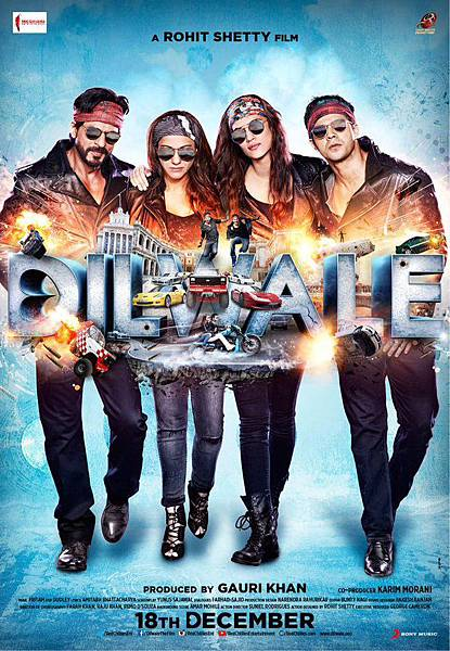 Dilwale-Poster