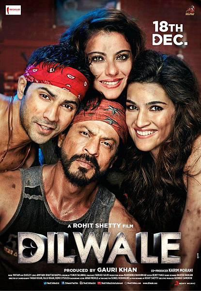 Dilwale-Poster-SRK-Varun-Kajol-Kriti