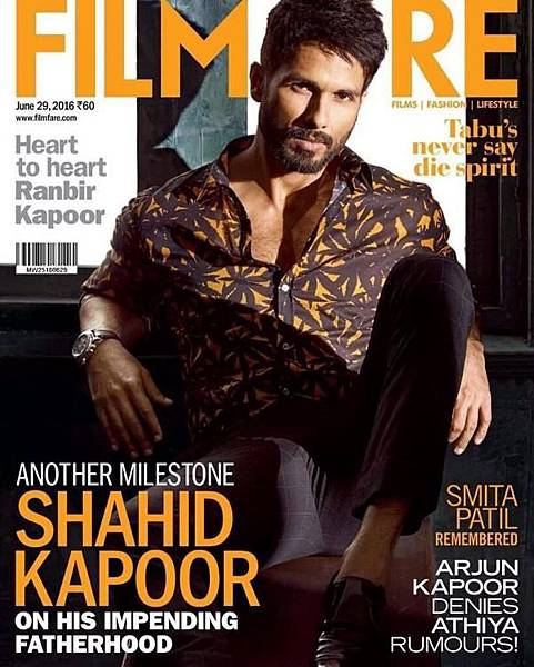 Shahid Kapoor Is Hotness Personified on Filmfare Latest Issue  (1)