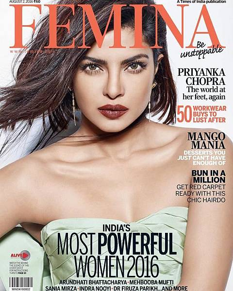 Priyanka Chopra is The Official Boss Amongst Femina