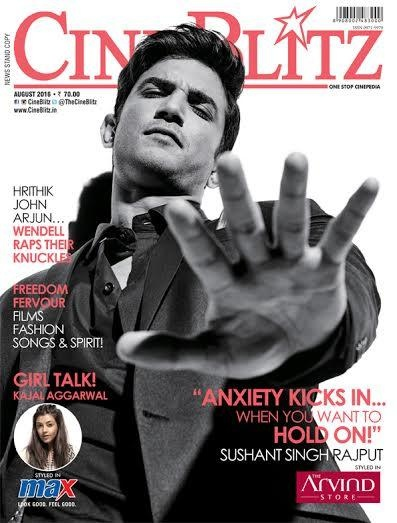 Sushant Singh Rajput Suits Up For CineBlitz August Issue