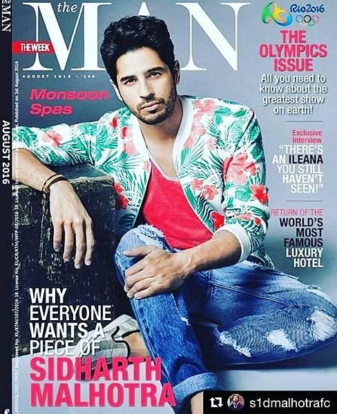 Sidharth Malhotra Dazzles on the Latest Issue of The Man Magazine