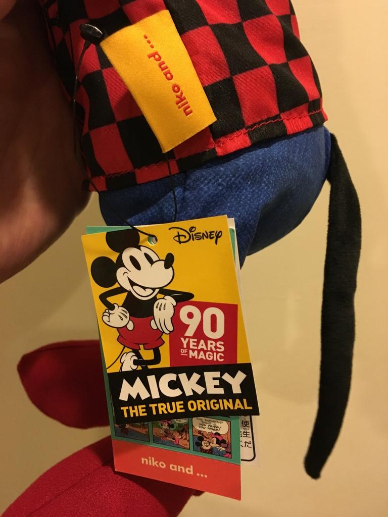 超可愛的米奇布偶、紙膠 萌小物~NIKO AND... 米奇聯名 MICKEY THE TRUE ORIGINAL 90 YEARS (10).JPG