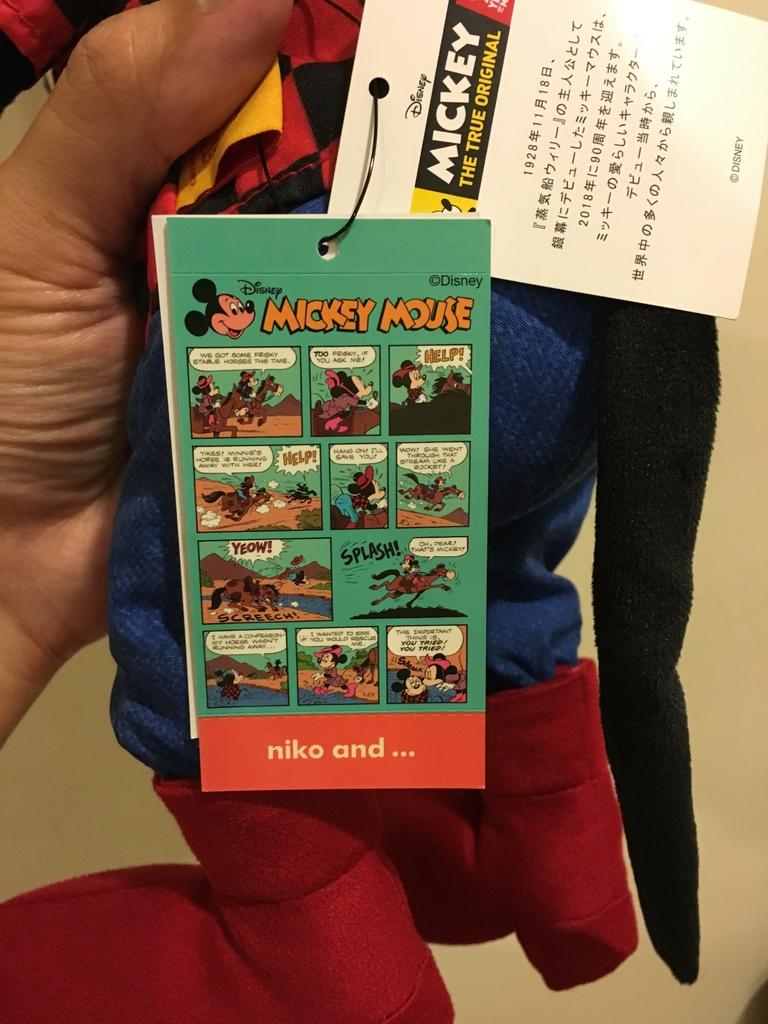 超可愛的米奇布偶、紙膠 萌小物~NIKO AND... 米奇聯名 MICKEY THE TRUE ORIGINAL 90 YEARS (11).JPG
