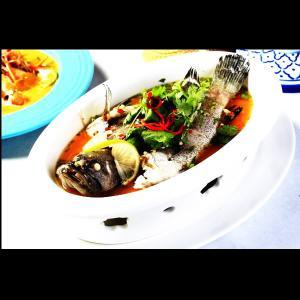 清蒸檸檬石斑魚