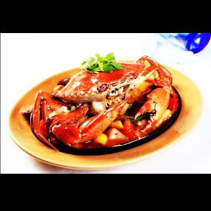 鐵板辣蝦膏螃蟹(沙公)
