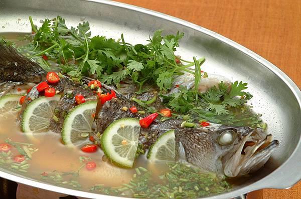 泰味清蒸檸檬魚