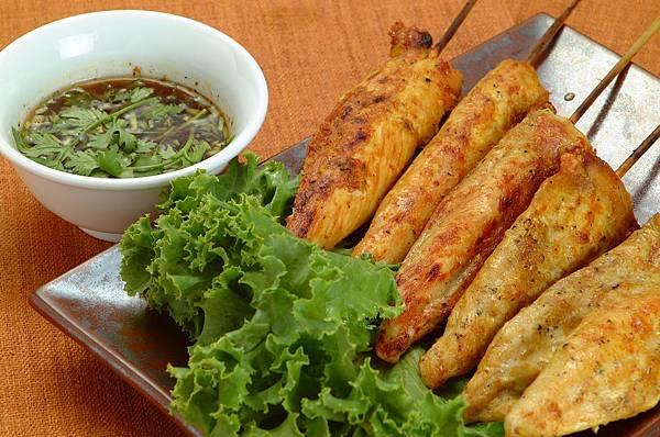 泰式炒沙嗲雞