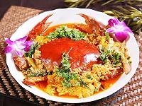 黃金咖哩蟹
